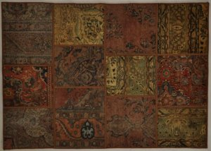 Patchwork tapijt- Productnr P2 - Patchwork 240 x 170cm