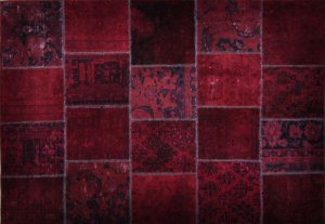 Productnr P17 - Patchwork 234 x 168 cm