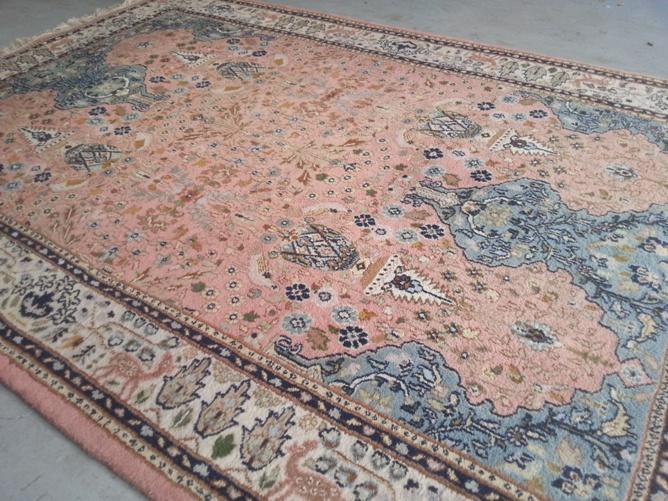 Perzisch Tapijt Blauw : Vloerkleed perzisch. finest perzisch tapijt brokking ijsselstein