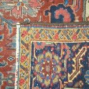 vintage heriz perzisch tapijt