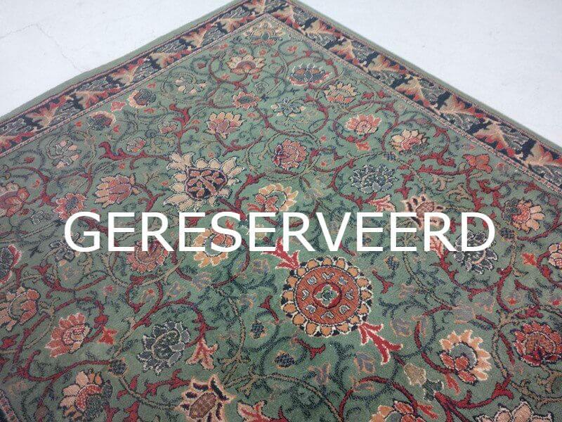 Perzisch Tapijt Groen : Oosters groen art deco tapijt cm deolijfberg