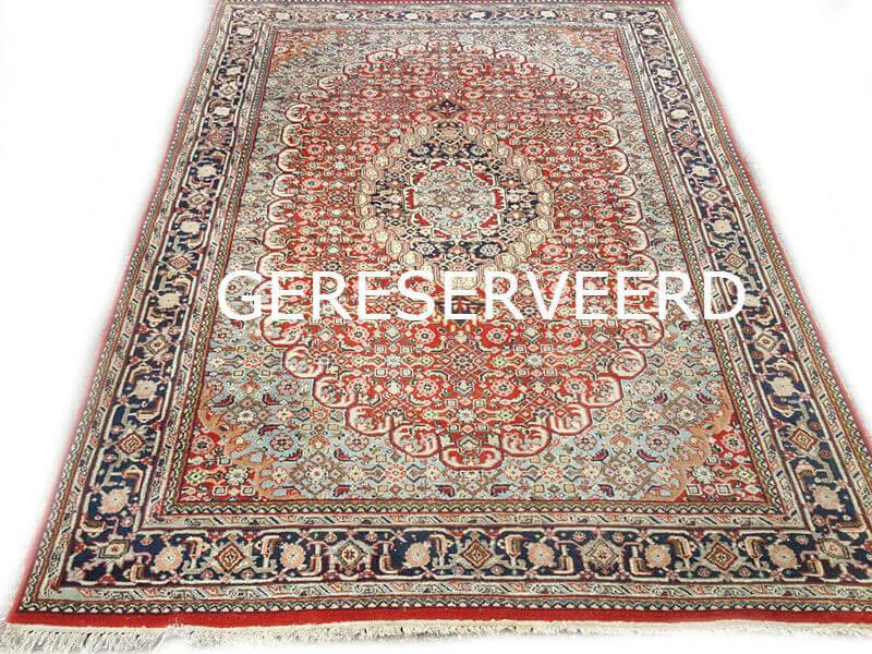 Rood Tapijt Aanbiedingen : Fraai oosters rood blauw bidjar tapijt cm
