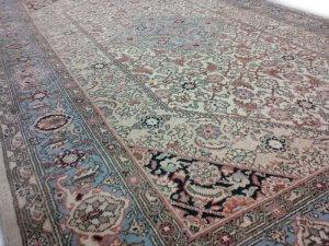 Perzisch Tapijt Blauw : Oosters tapijt blauw. cool vintage kelim vloerkleed oa geel en bruin