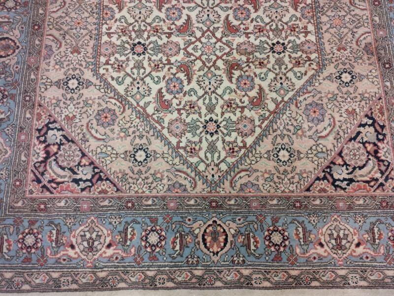Perzisch Tapijt Blauw : Oosters tapijt goedkoop