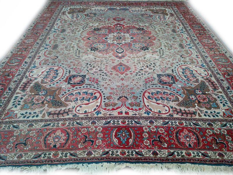 Klein Perzisch Tapijt : Fraai antiek handgeknoopt perzisch tapijt kashmar cm