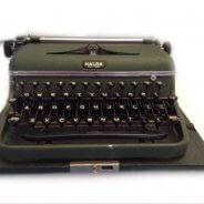 Vintage Halda Typmachine