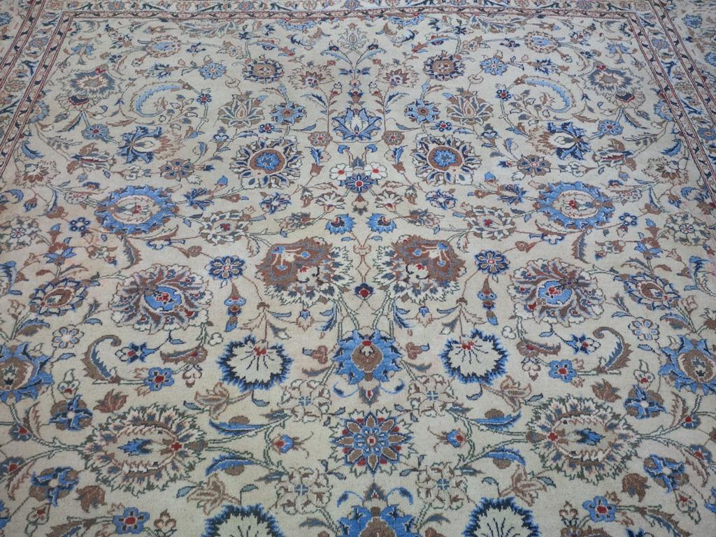 Perzisch tapijt blauw