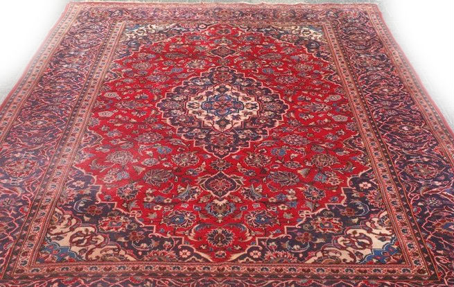 Perzisch Tapijt Tweedehands : Perzisch tapijt blauw awesome zeer mooi vintage perzisch tapijt x