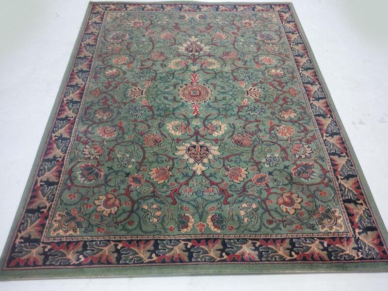 Perzisch Tapijt Tweedehands : Oosters groen art deco tapijt 170 x 230 cm deolijfberg.nl