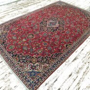 Kashan tapijt rood (5)