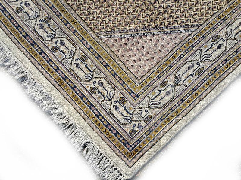 Mir Perzisch Tapijt : ≥ groot handgeknoopt wollen blauw perzisch tapijt mir