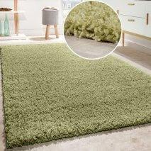 Olijfgroen tapijt