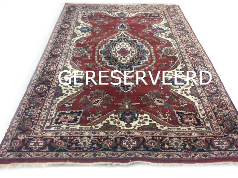 Rood Tapijt Aanbiedingen : Klassiek rood oosters vintage tapijt 295 x 195 cm vintage tapijten