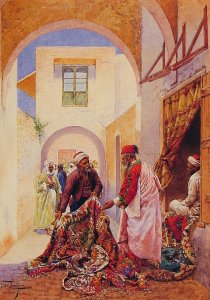 Perzische Tapijten handelaar