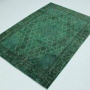 Vintage Vloerkleed Groen Perzisch (3)