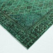 Vintage Vloerkleed Groen Perzisch (4)