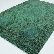 Vintage Vloerkleed Groen Perzisch (5)