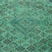 Vintage Vloerkleed Groen Perzisch (6)