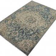 blauw vintage tapijt (4)