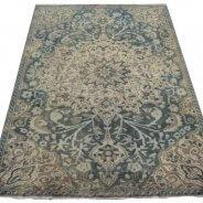 blauw vintage tapijt (9)