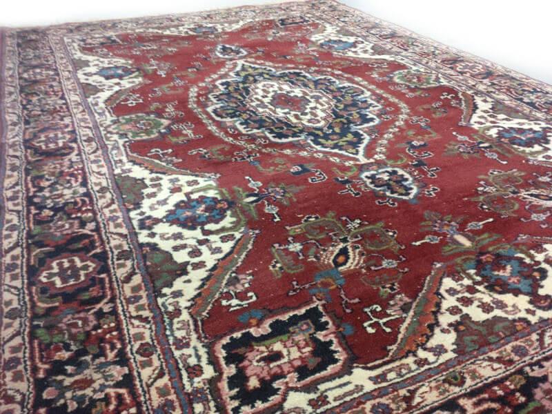 Klassiek rood oosters vintage tapijt 295 x 195 cm vintage tapijten