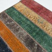 patchwork veelkleurig 250 x 17008