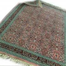roze groen tapijt (3)